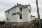 построенный частный дом - коттедж в Тюмени