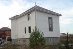 построенный частный дом - коттедж в Комарова