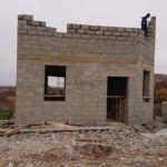 Постройка частного дома, село Луговое